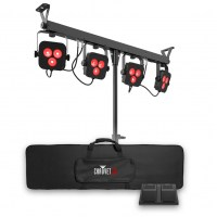 Комплект световых приборов PAR на стойке CHAUVET 4BAR LT BT